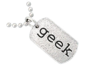 Various Geek Tags - Click on Link - Badali Jewelry - Necklace