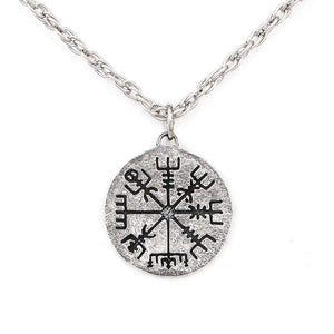 Vegvisir Necklace - Silver - Badali Jewelry - Necklace