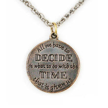 Load image into Gallery viewer, Wisdom of GANDALF™ Pendant - Bronze - Badali Jewelry - Necklace