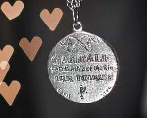 Wisdom of GANDALF™ Pendant - Silver - Badali Jewelry - Necklace