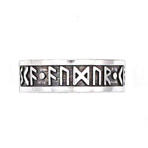 Wisdom - Wealth - Power Furthark Rune Ring - Badali Jewelry - Ring