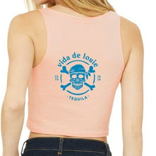 Load image into Gallery viewer, Ladies' Crop Tank (6680)
