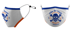Mask VDL Logo Orange and Blue