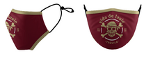 Load image into Gallery viewer, Mask VDL Logo Garnet & Gold
