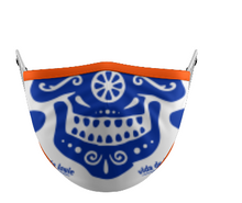 Load image into Gallery viewer, Mask VDL Face Orange and Blue