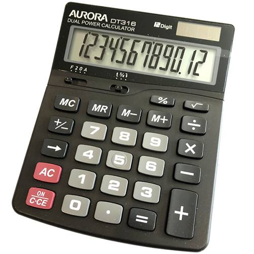 Calculator Voice Activated Recorder