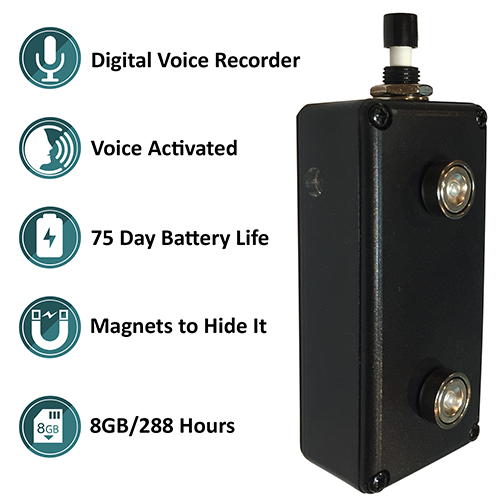 Hidden Voice Activated Recorder