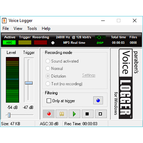 spy software record audio for windows vista
