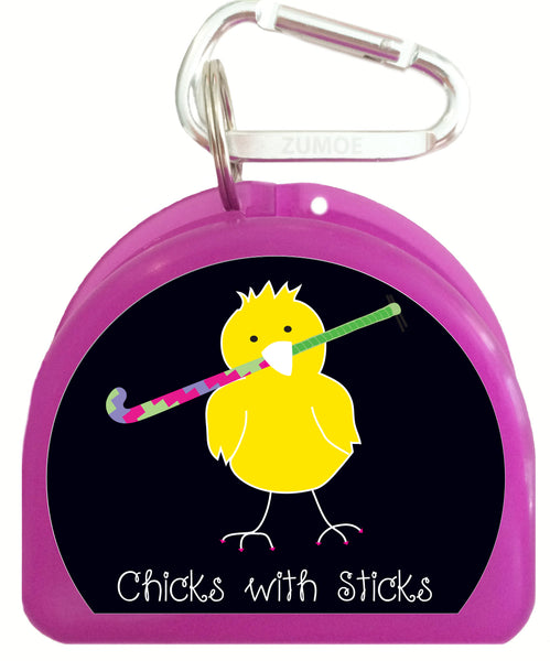 Pacifier Case - Field Hockey Chicks with Sticks - 624-B