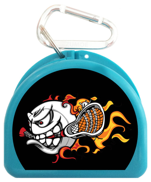 Pacifier Case - Lacrosse Fire - 651-B