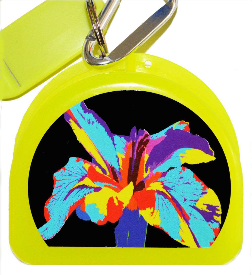 705 -  Hibiscus - Yellow Mouth Guard Case