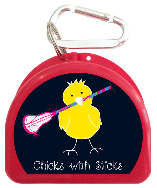 Pacifier Case - Lacrosse Chicks with Sticks - 623-B