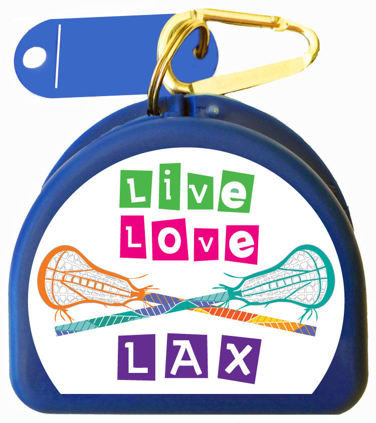 Mouth Guard Case - Live Love Lax - 621