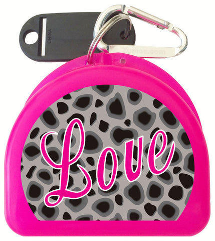 203 - Cheetah Mouth Guard Case