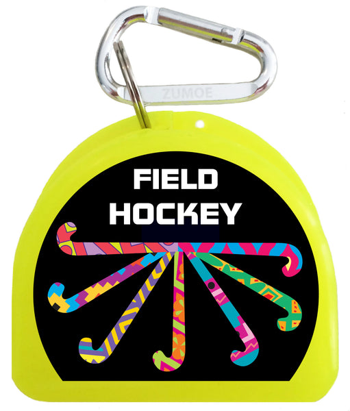Pacifier Case - Field Hockey Pass, Dribble, Score - 633-B