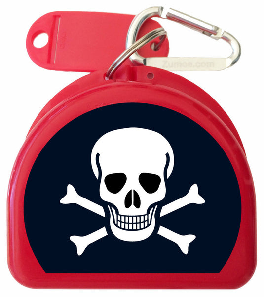 213 - Skull & Bones Mouth Guard Case