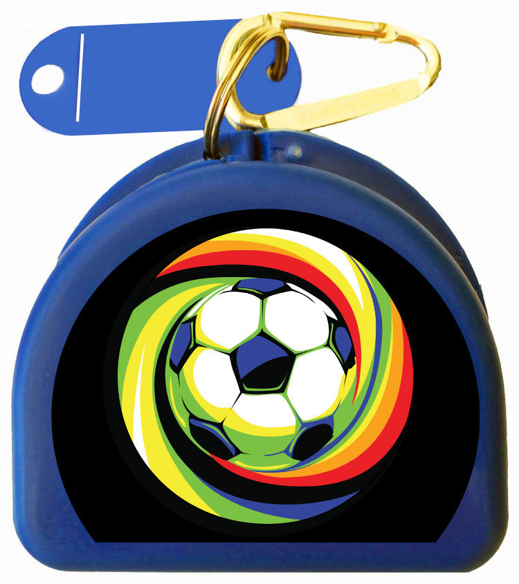650 - Mouth Guard Case - Soccer Ball