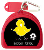 Mouth Guard Case - Soccer Chicks - 626