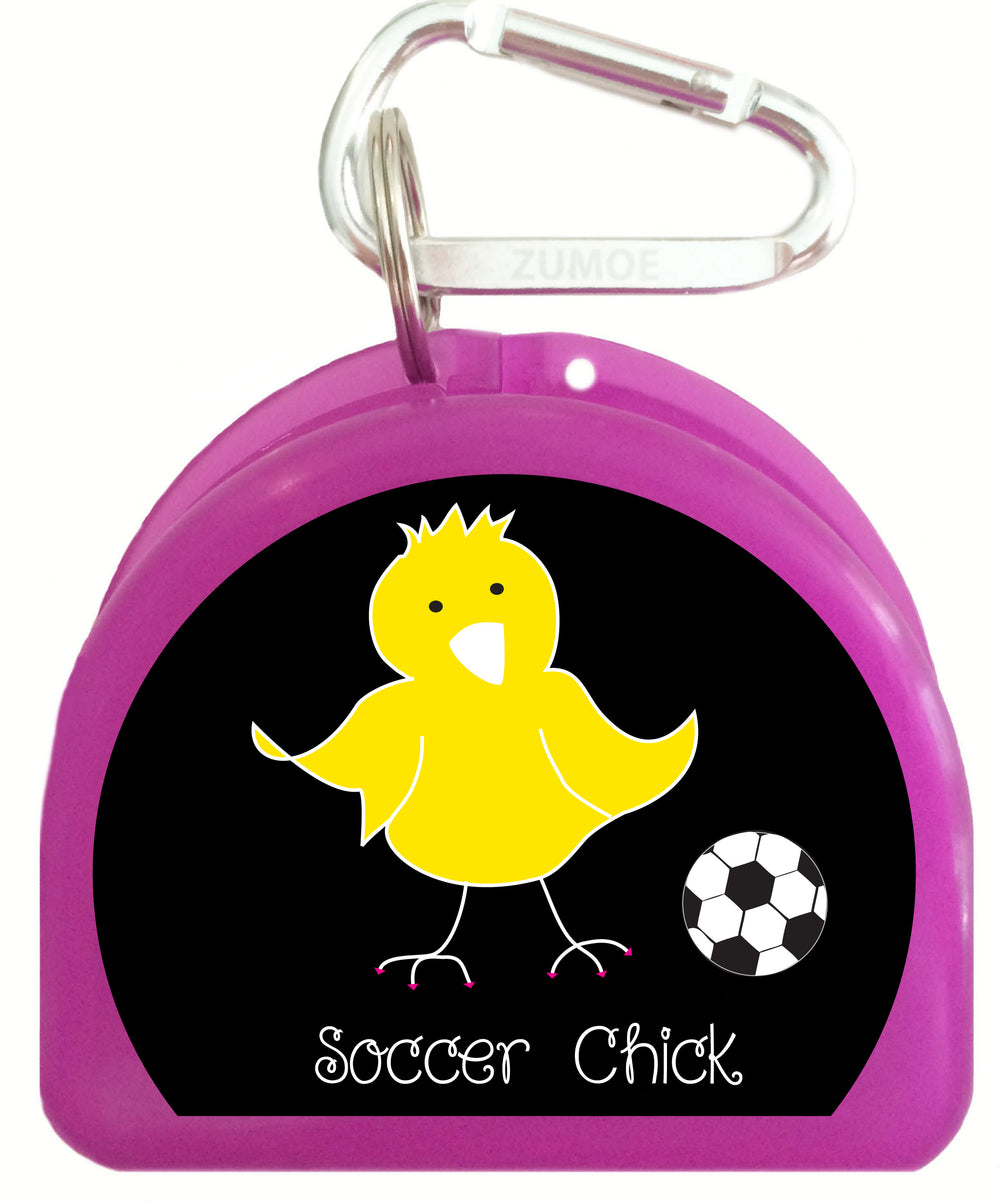 Pacifier Case - Soccer Chicks - 626-B