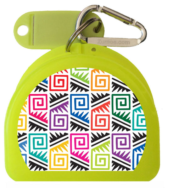 217 - Tribal Mouth Guard Case