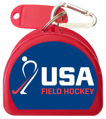 902 - USA Field Hockey Mouth Guard Case