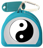 641 - Mouth Guard Case - Ying & Yang