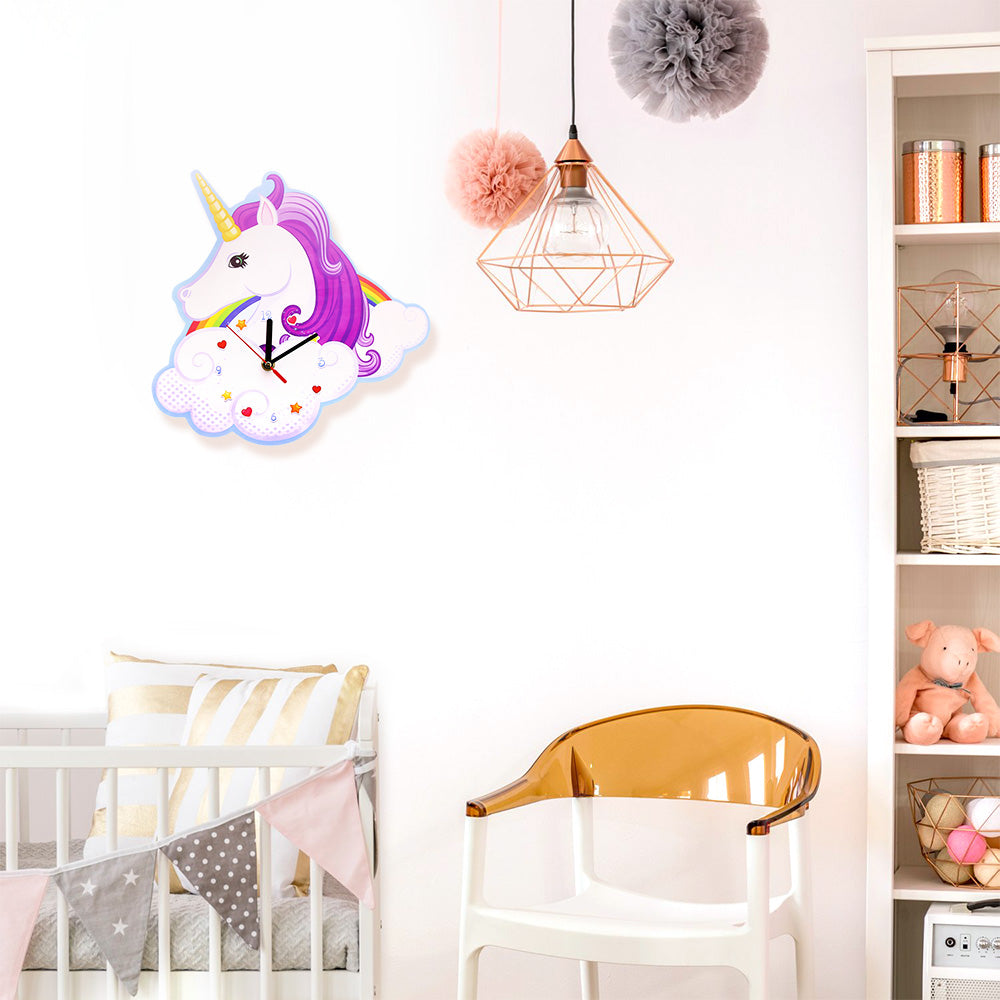 Magical Unicorn Wall Clock
