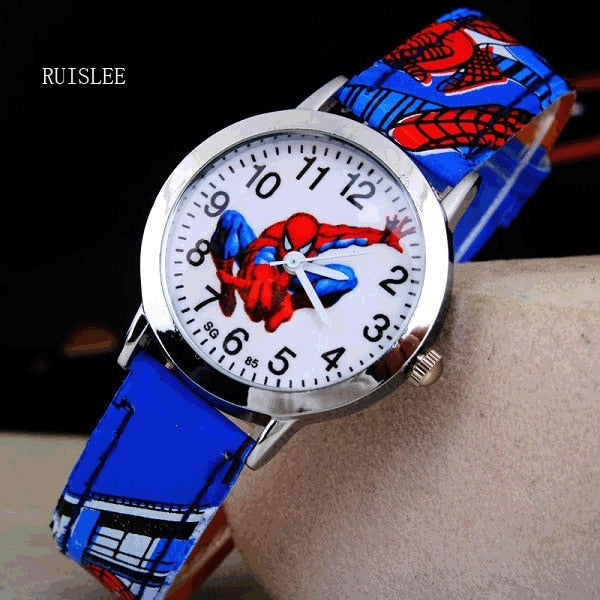 Amazing SpiderMan Rubber Strap Quartz Watch