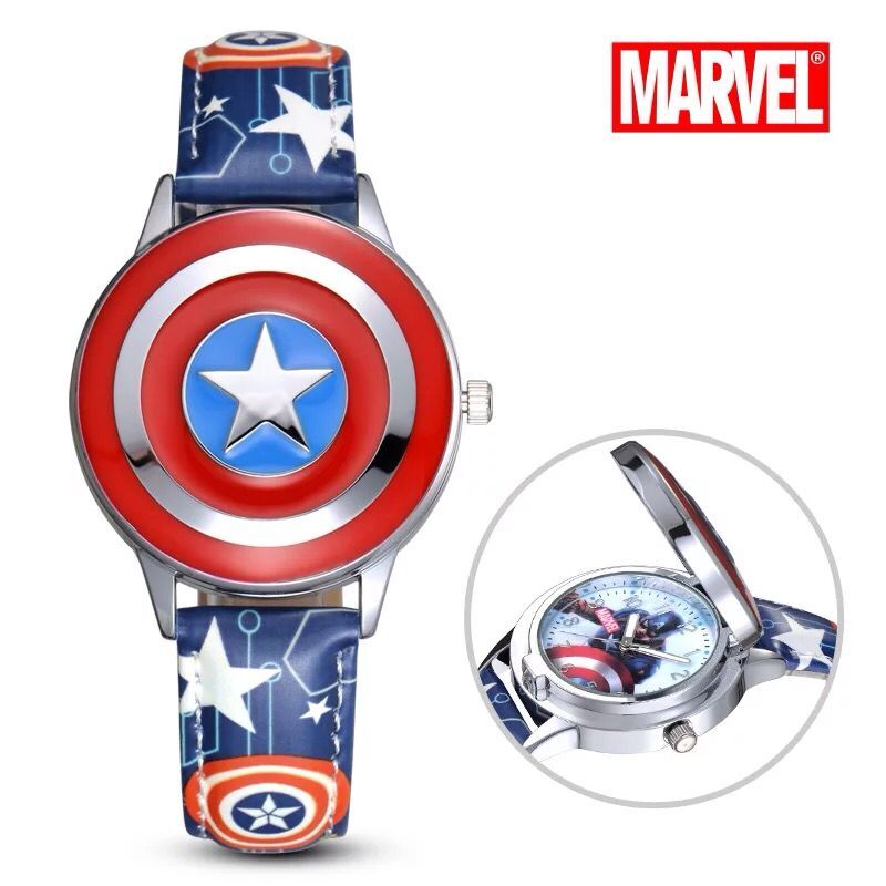 Marvel's Captain America Analog Quartz Watch