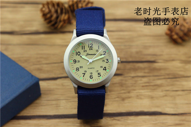 Luminous Hands NATO-style Quartz Watch