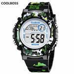 Camouflage LED Digital Wristwatch
