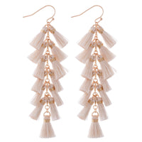 Fan Tassel Earring