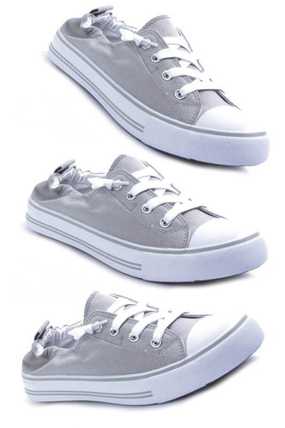 Grey Sporty sneakers
