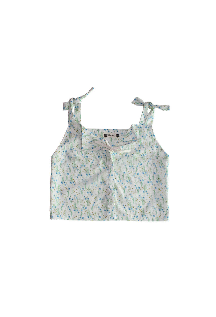 Delphine Top Rayon - Floral