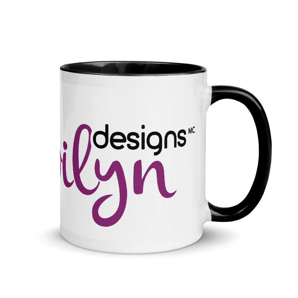 Bibilyn mug with black colored interior