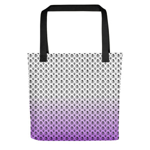 Tote Bag with Purple Gradient and Bibi Logos