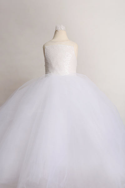 Flower Girl Sequin Dress - Dear Liline