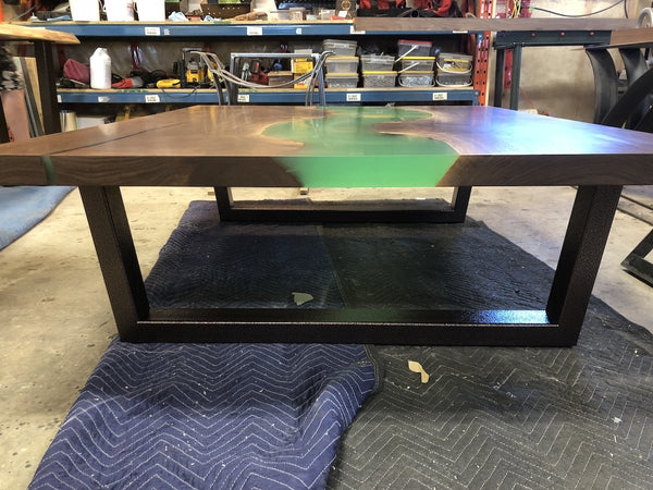 Coffee Table - Epoxy River Coffee Table