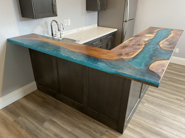 Epoxy Kitchen Counter Top