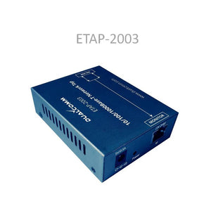 Side view of ETAP-2003 Network Tap (Ethernet Tap)