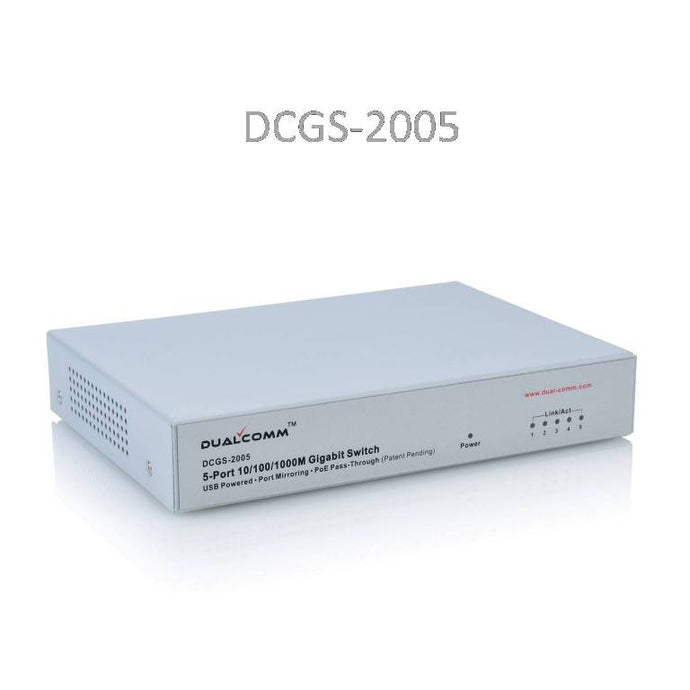 DCGS-2005 USB Powered Gigabit Copper Network Tap