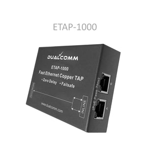 Image of ETAP-1000 Fast Ethernet Copper Tap - View 2