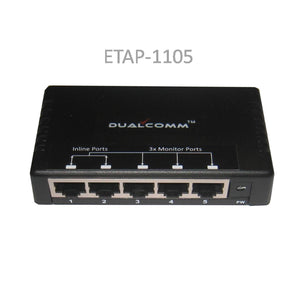 Image of 1-to-3 10/100Base-T Ethernet Network Regeneration Tap - 1