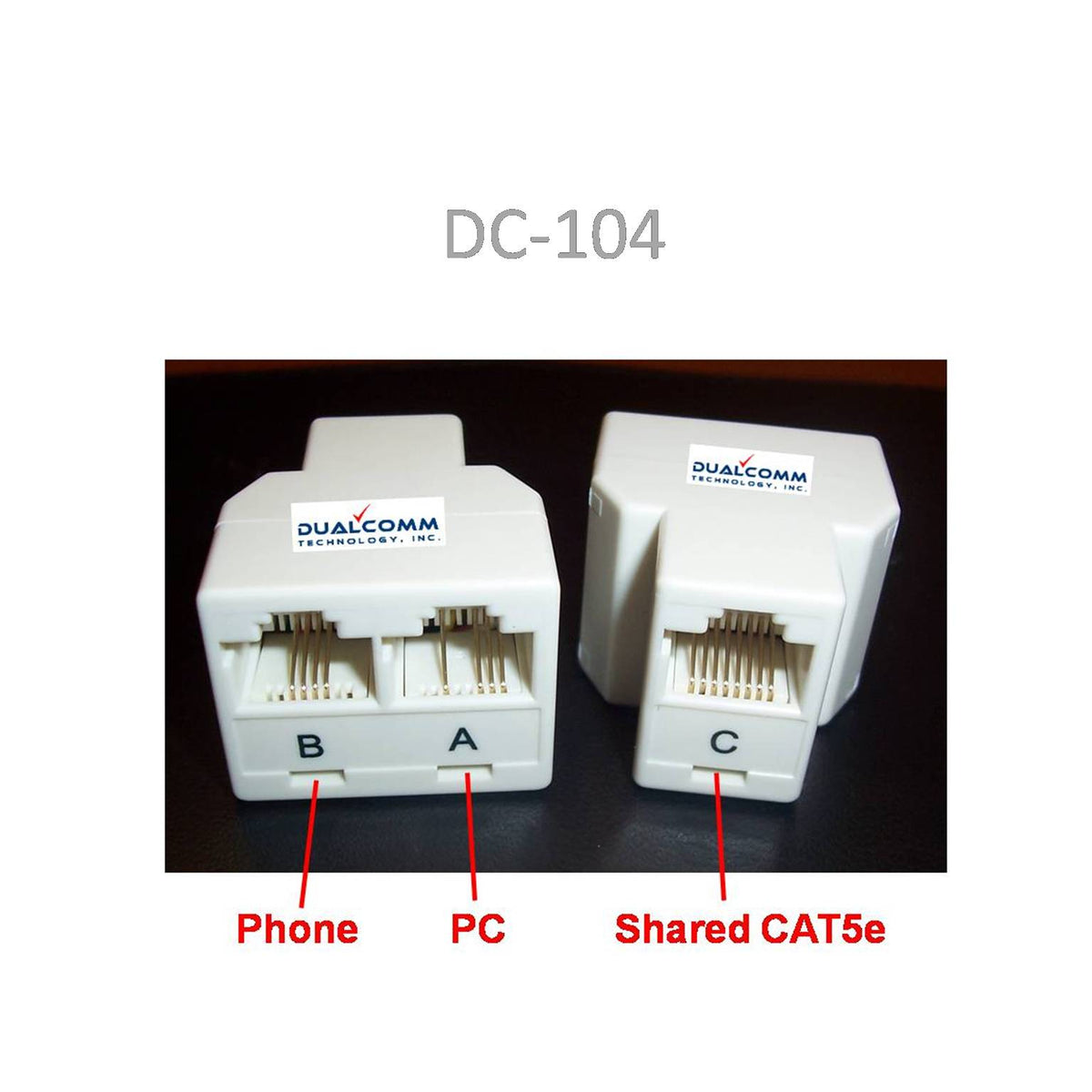 rj45 rj11 splitter cable sharing kit for ethernet and. Black Bedroom Furniture Sets. Home Design Ideas