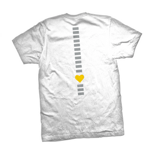 I Am Redefining Spina Bifida White T-Shirt - YOUTH