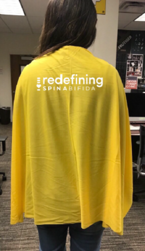 Redefining Spina Bifida Yellow Cape