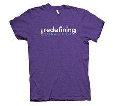 Load image into Gallery viewer, Redefining Spina Bifida Purple Rush T-Shirt