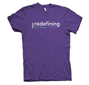 Redefining Spina Bifida Purple Rush T-Shirt
