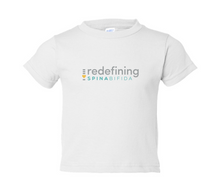 Load image into Gallery viewer, Redefining Spina Bifida White T-Shirt - TODDLER