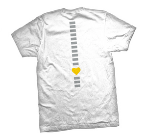 Redefining Spina Bifida White T-Shirt - YOUTH